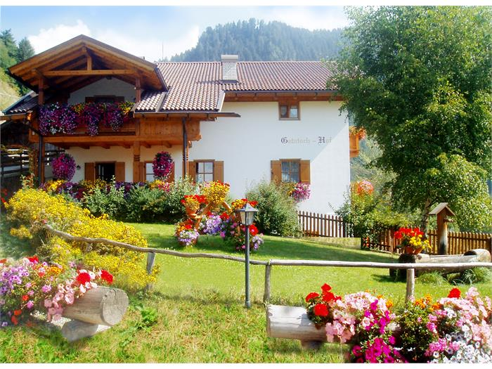 Farm Gstatschhof in summer