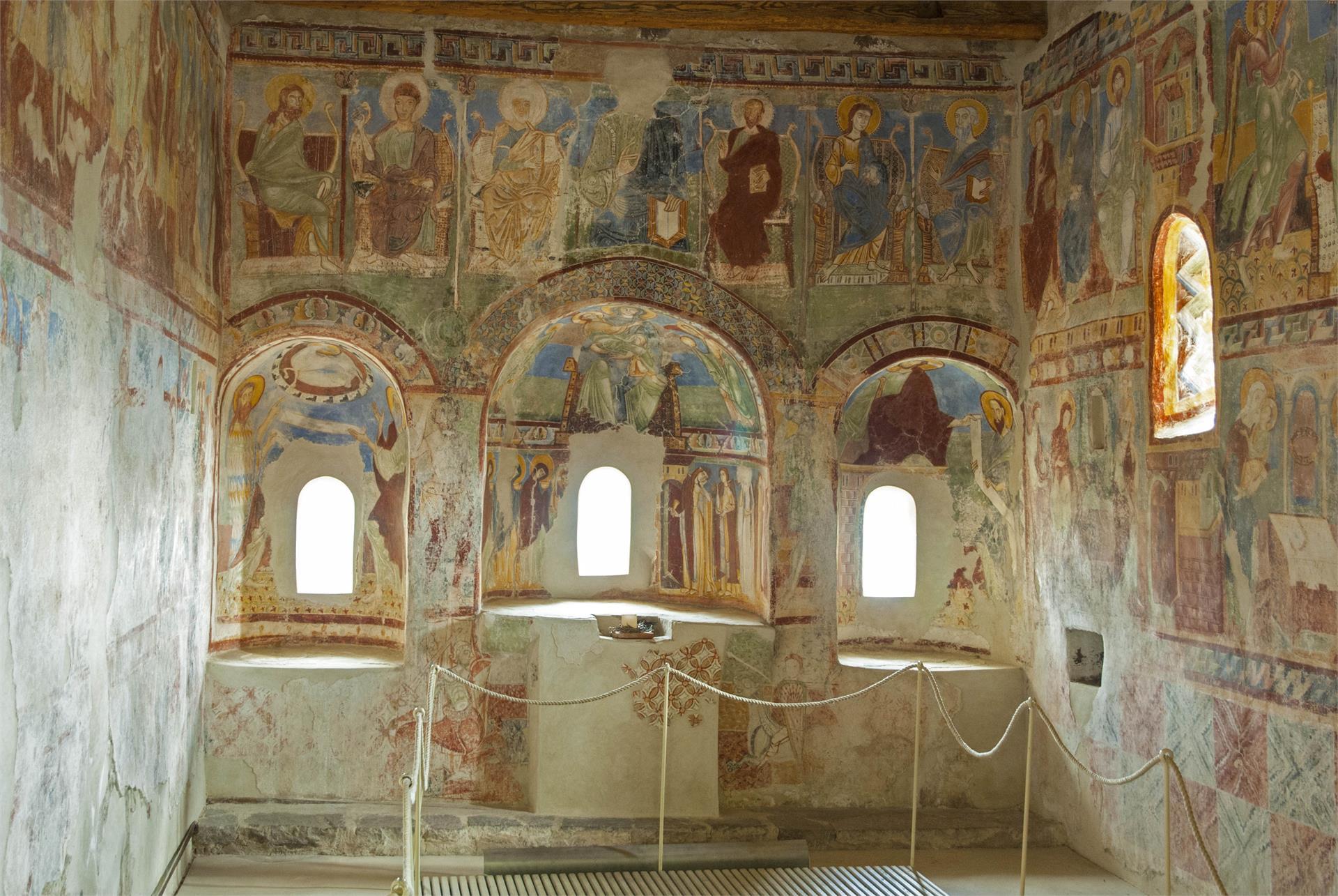 Die Fresken in der Burgkapelle Hocheppan