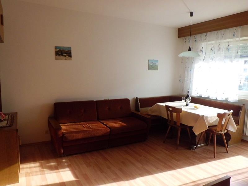 Wohnraum im Appartement Enzian
