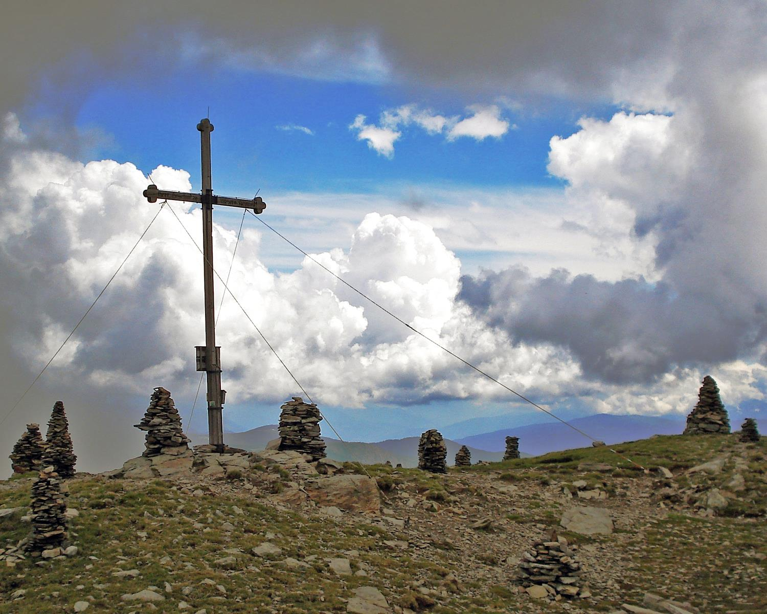 From Stilfes to the Zinseler summit