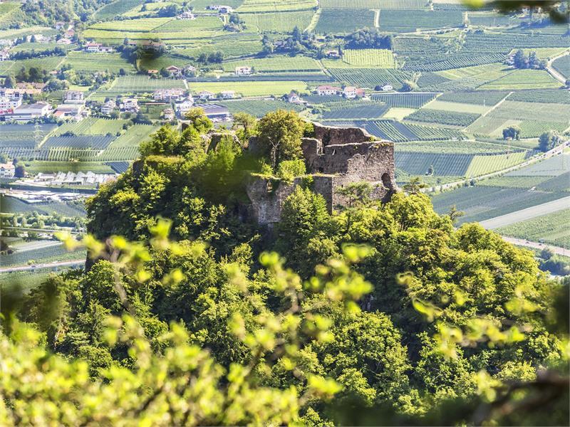 Burgenweg Burg Greifenstein Glaning Jenesien