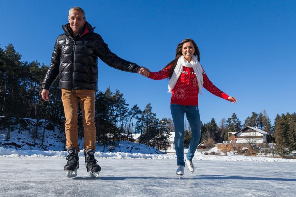 Eislaufen am Wolfsgrubenersee