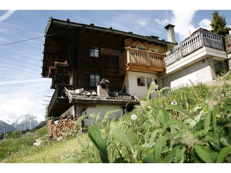 Haus mit Fereinwohnung Südseite