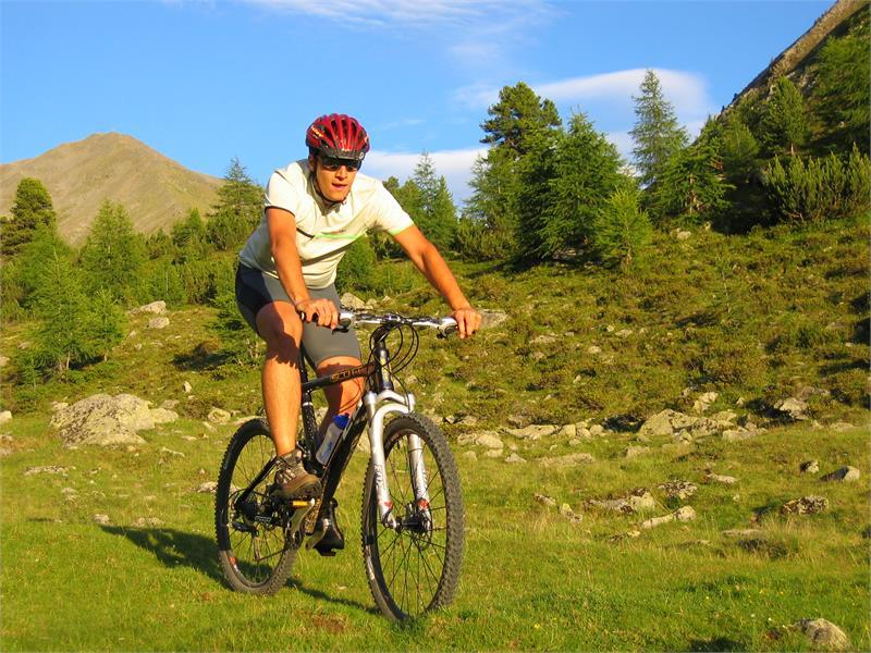 Mountainbiking im Vinschgau