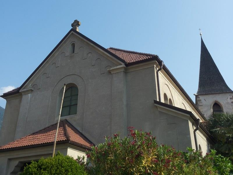 "Parish church ""St. Sebastian"" Tscherms"