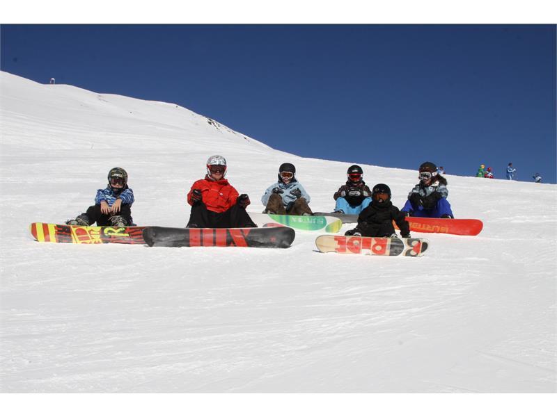 Snowboard sulla Plose