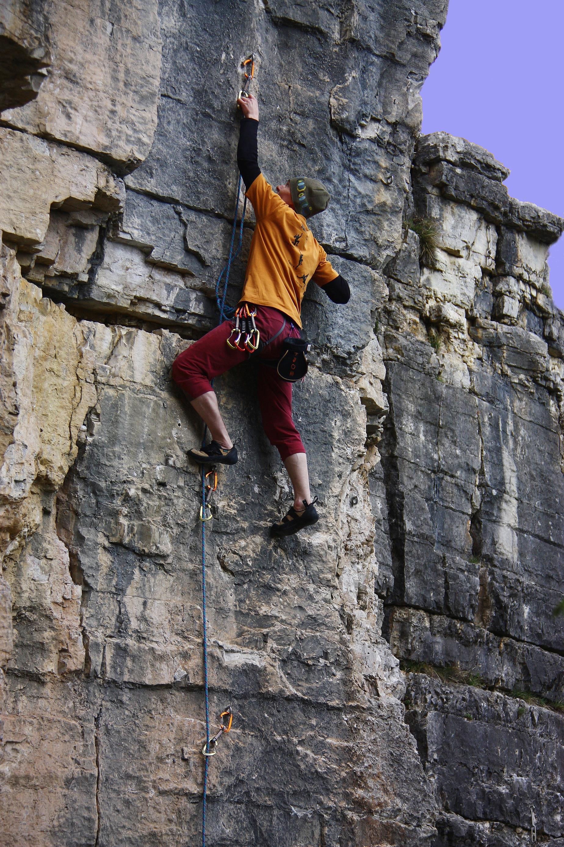 Kletterwand Truden