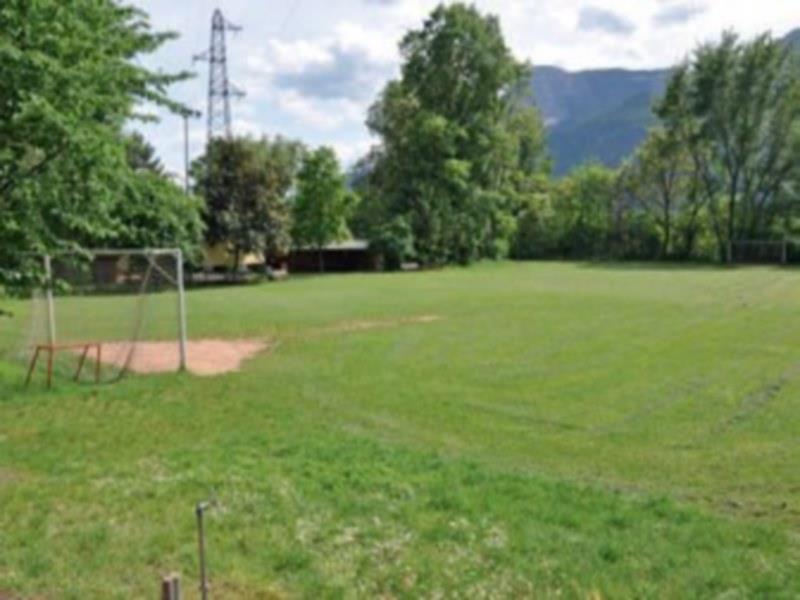 Parco giochi presso la zona ricreativa Bachau a Vilpiano