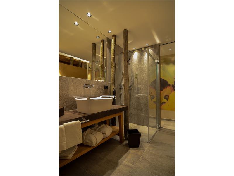 Romantiksuite Badezimmer