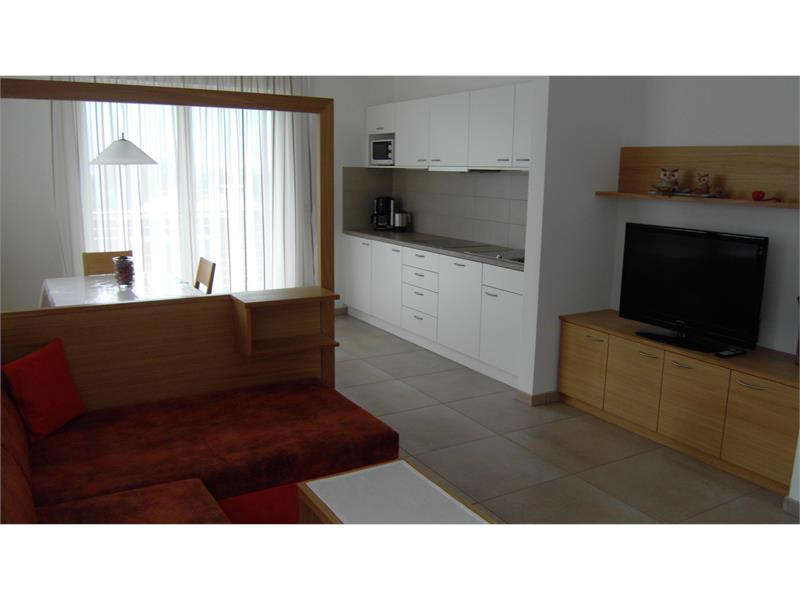 Appartamento sala di soggiorno cucina
