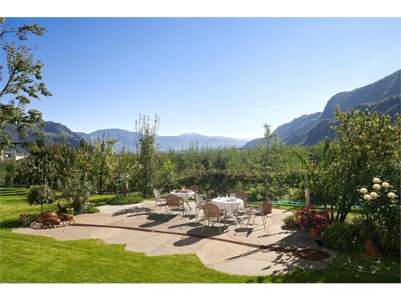 Haus Luise, Nalles, giardino terrazza