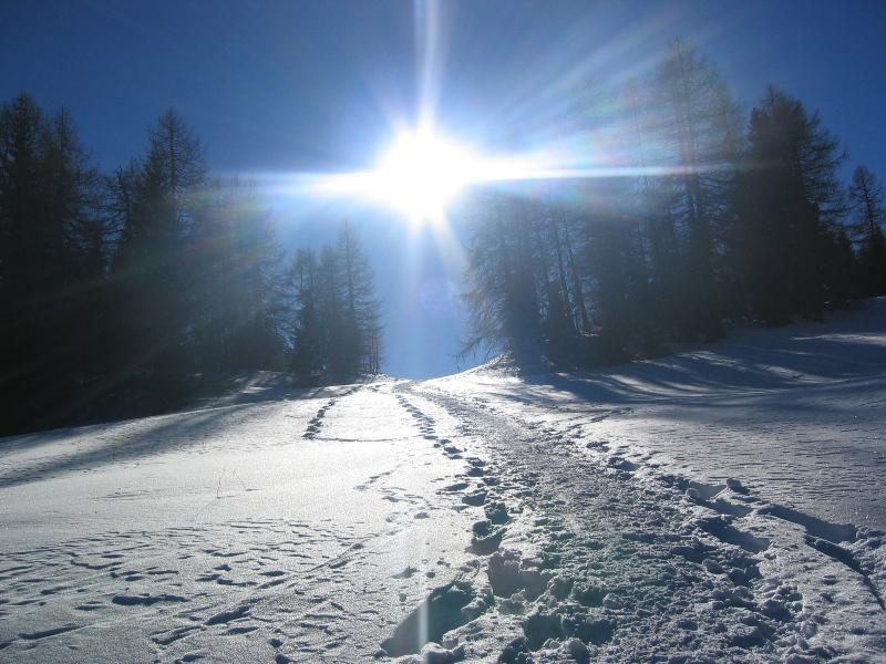 Escursione invernale Meltina attraverso il Salto