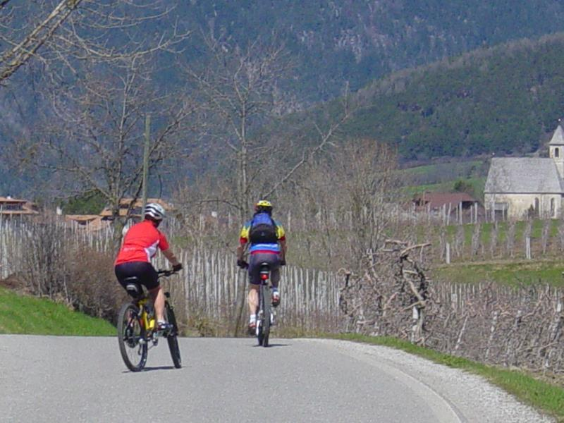 Cycling in Natz-Schabs