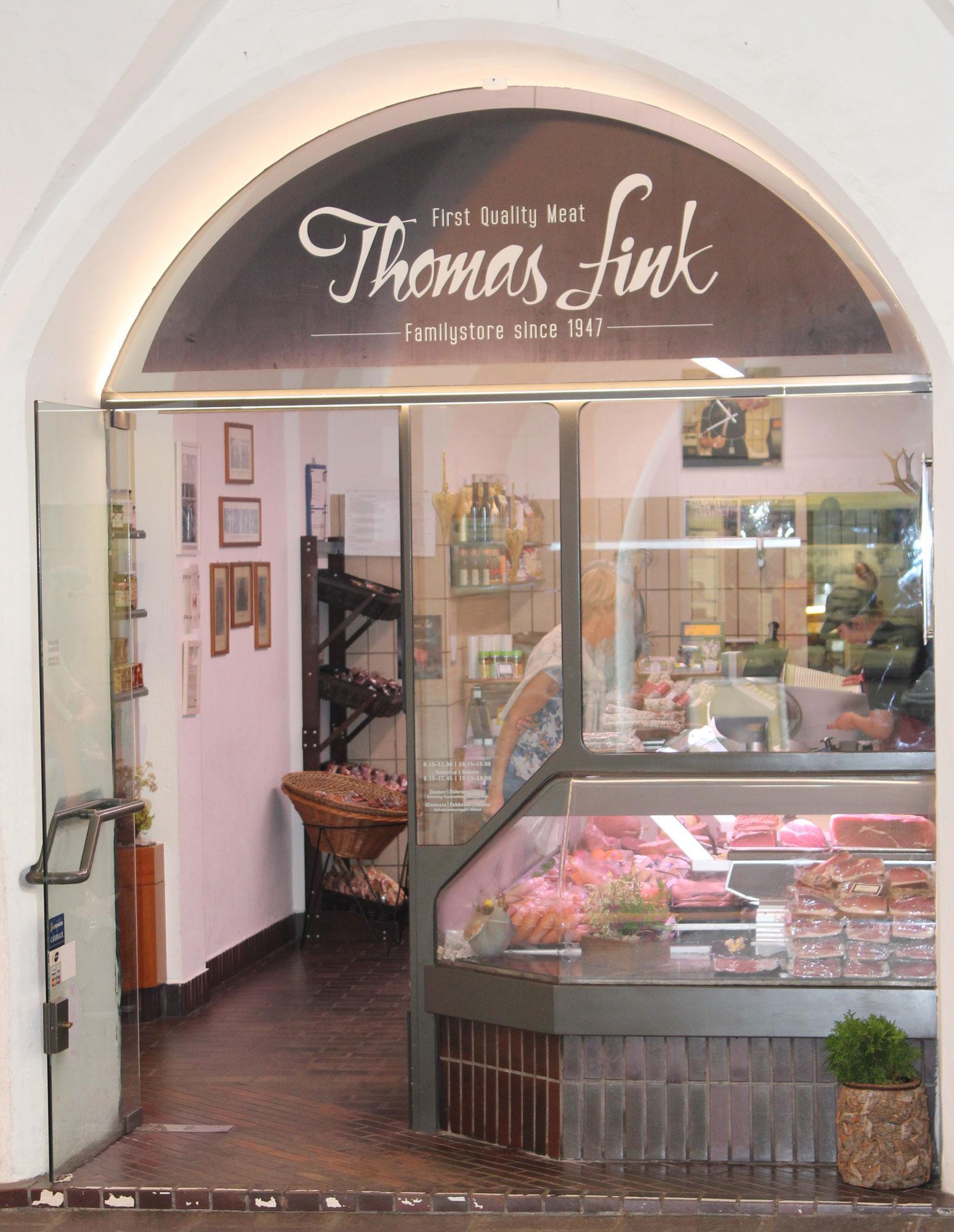 Butcher's shop Fink Thomas