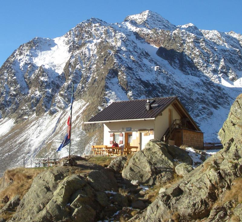 Alpine hut Grohmannhütte