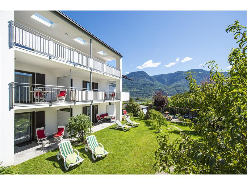 Lato sud = sole / area terrazzi & balconi
