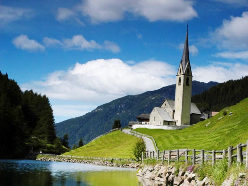 San Nicolo/St. Nikolaus Church in Valdurna/Durnholz