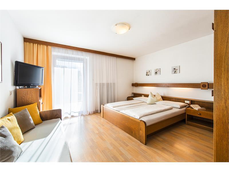 Schlafzimmer der Wohnung Typ A