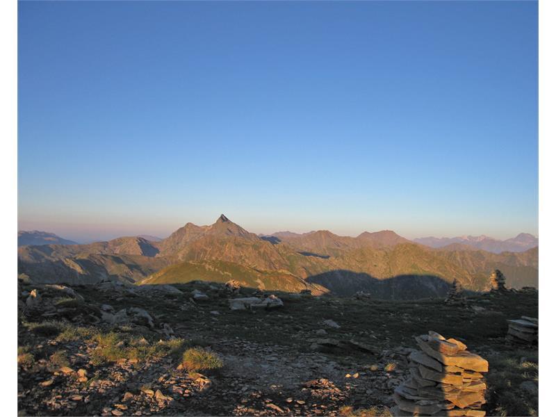 Zinseler summit panoramic view