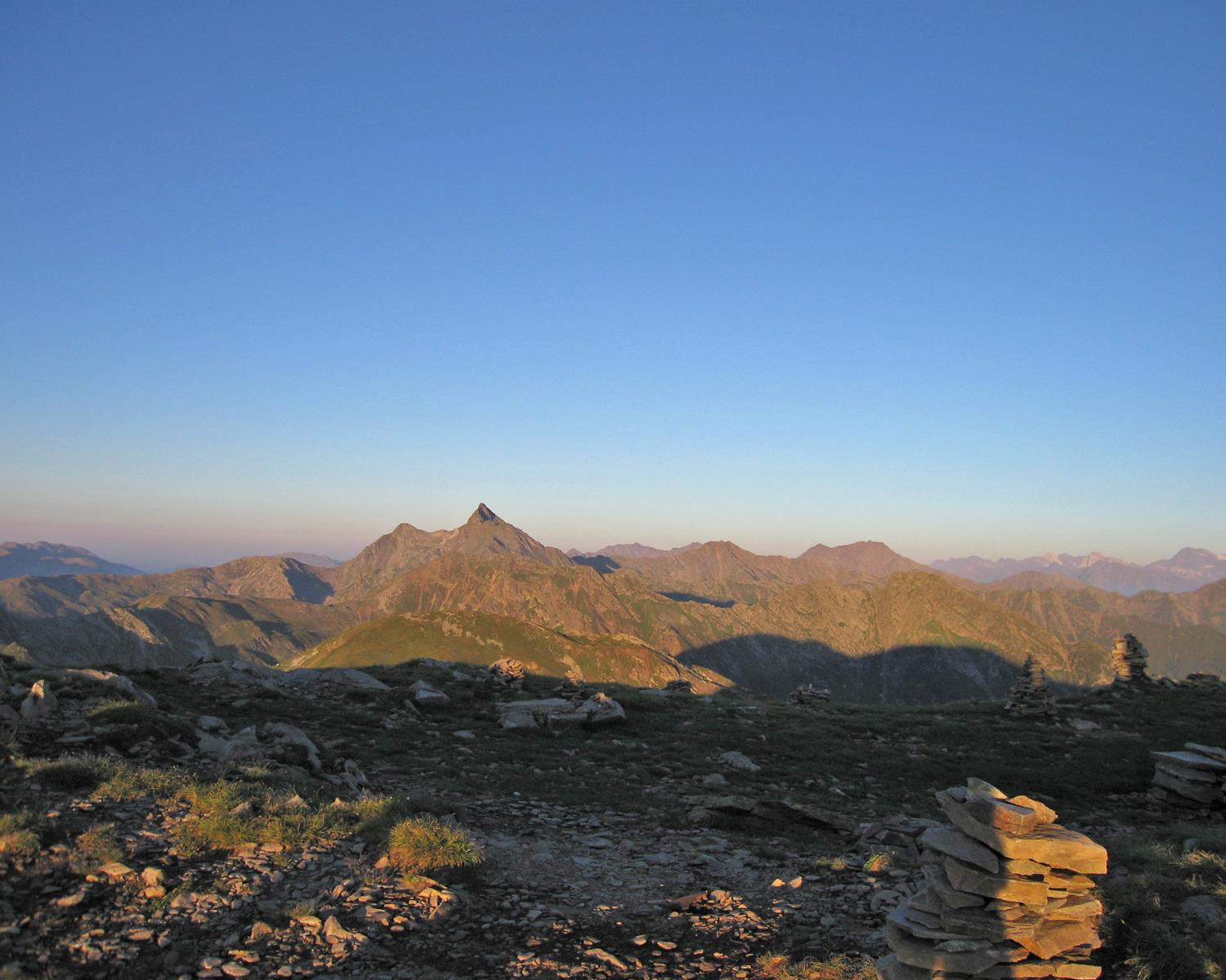 From Sterzing to the Zinseler summit