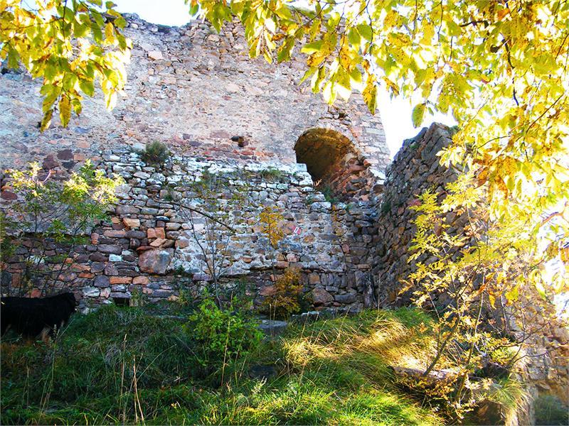 Castle Grifo near the restaurant Noafer in Cologna San Genesio