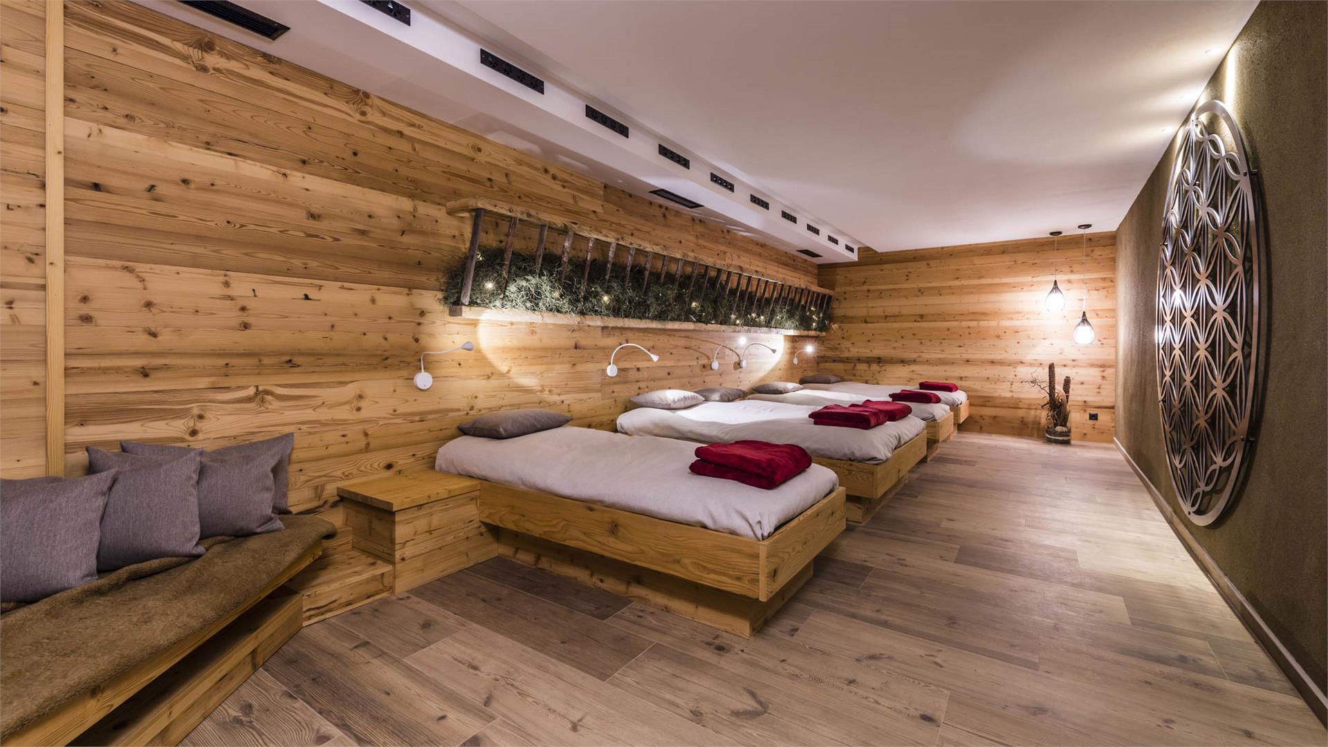 Sauna - Ruheraum
