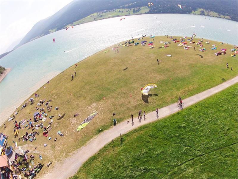 Kitesurf Gelande am Reschensee