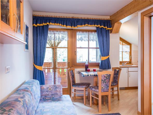 Wohnküche Ferienhof Thumburg