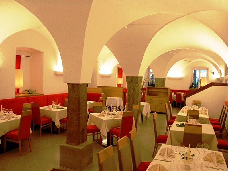 La taverna nel Hotel Mezzaluna