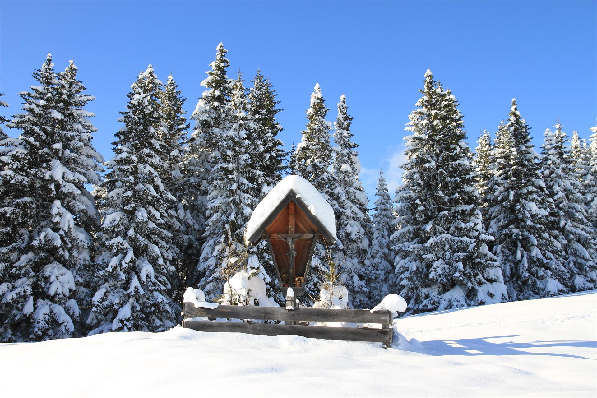 Inverno sulla magla Möltner Kaser