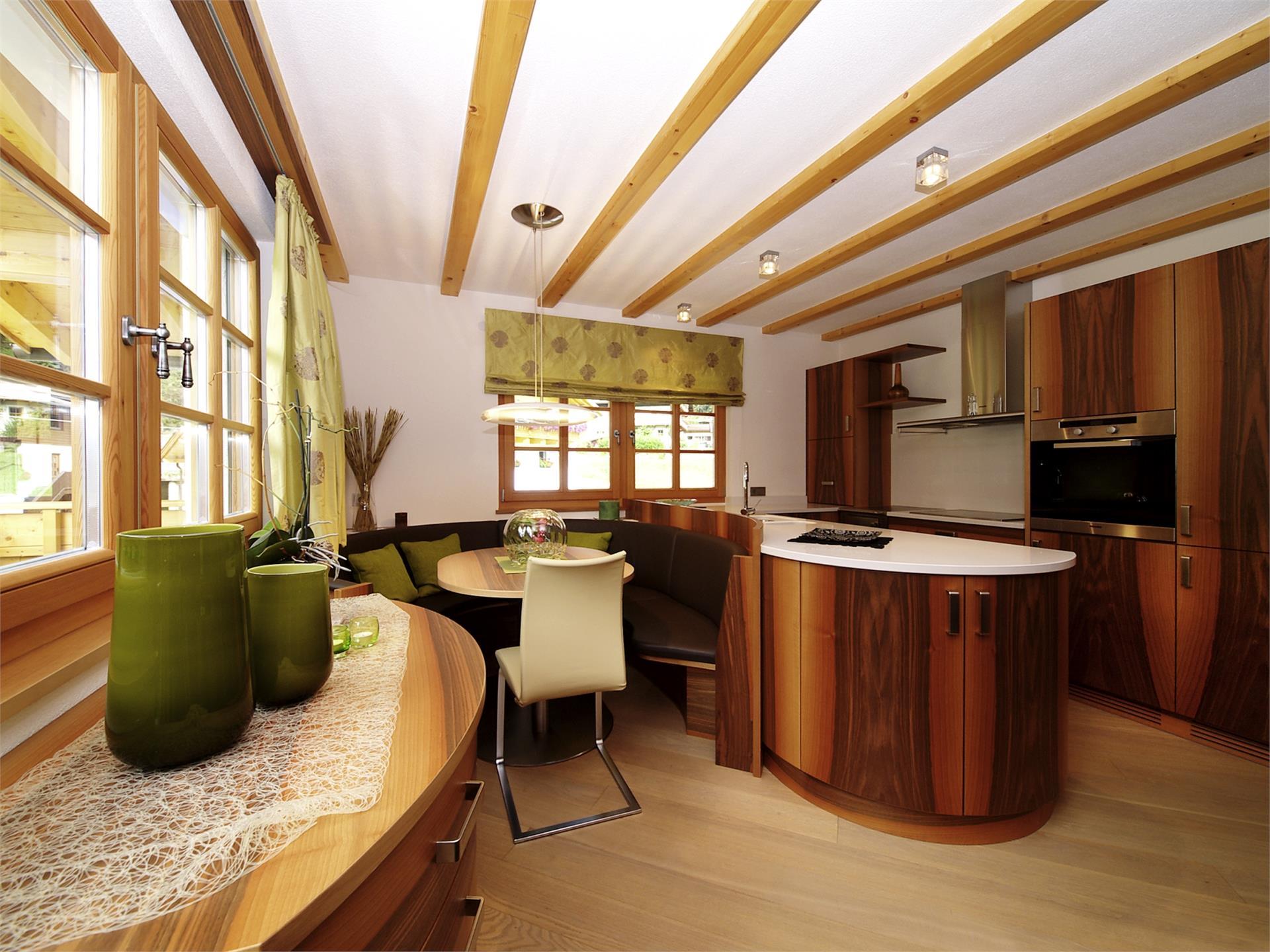 cucina abitabile - appartamento A