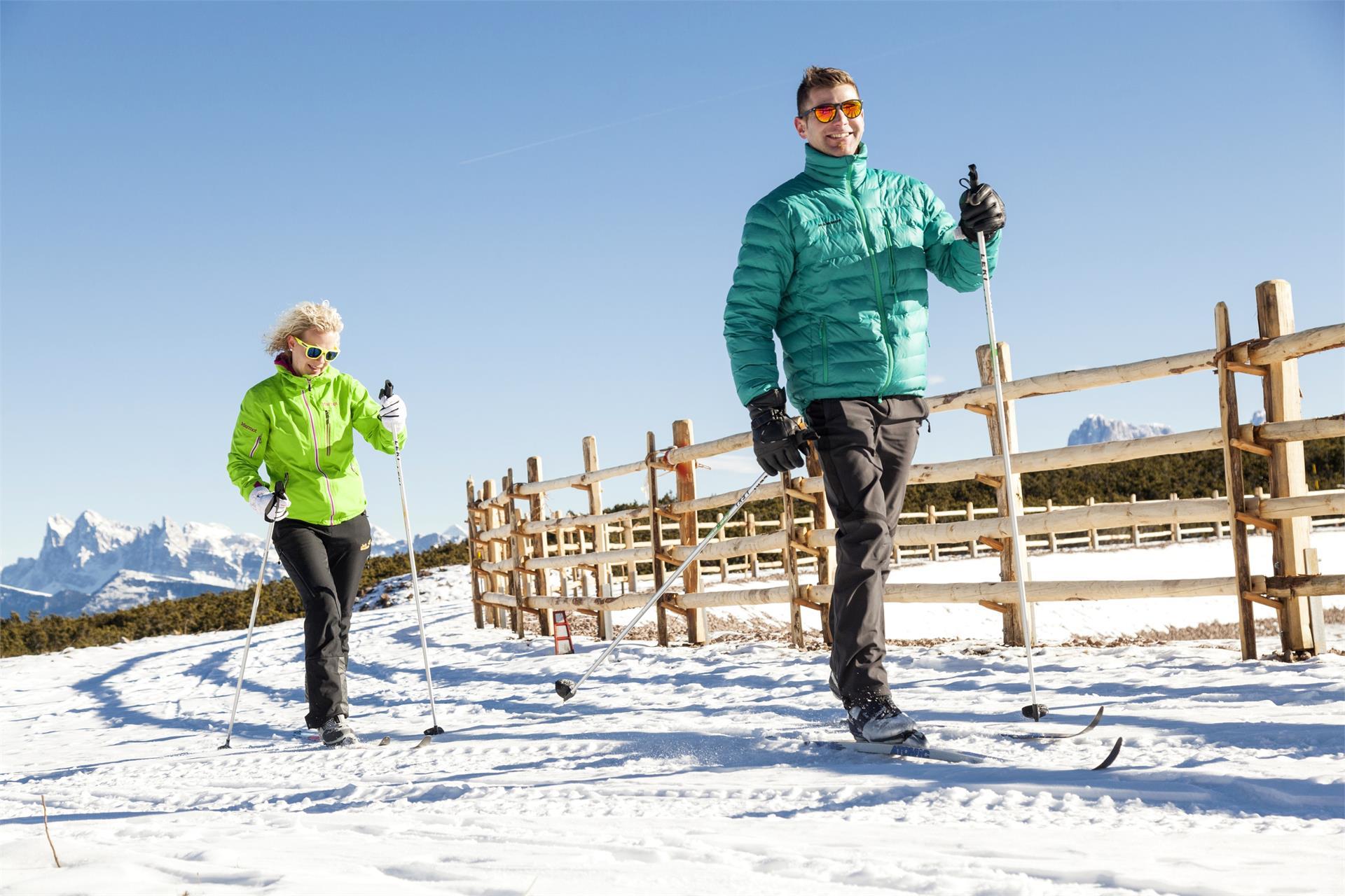 Langlaufen am Rittnerhorn