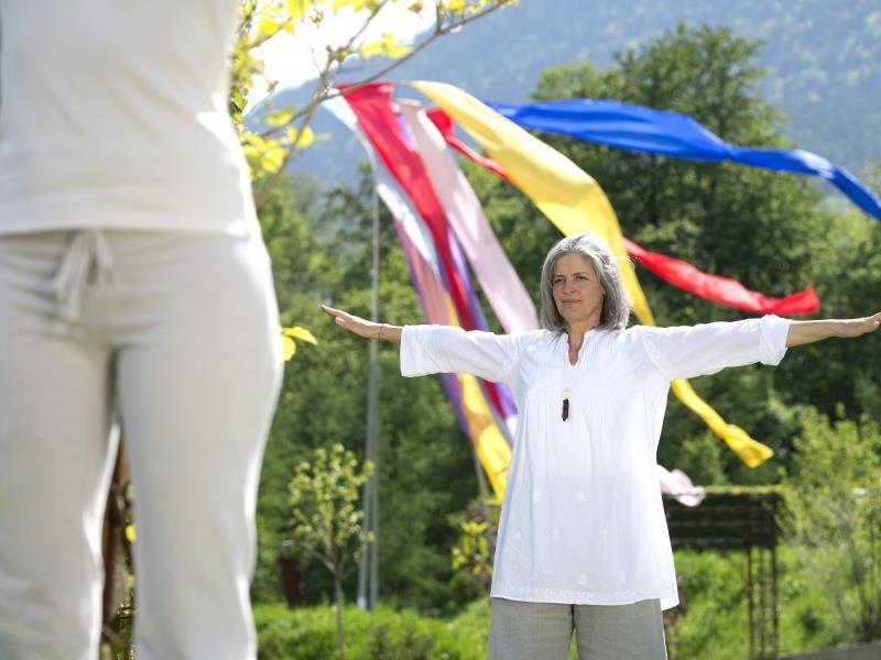 Meditation im Erlebnis Kränzelhof - 7 Gärten