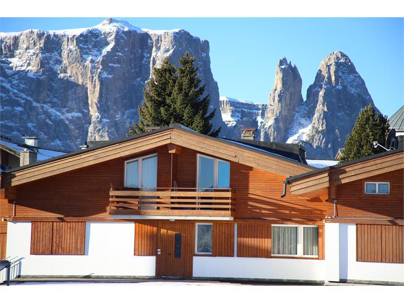 Tourist Center Obexer in winter
