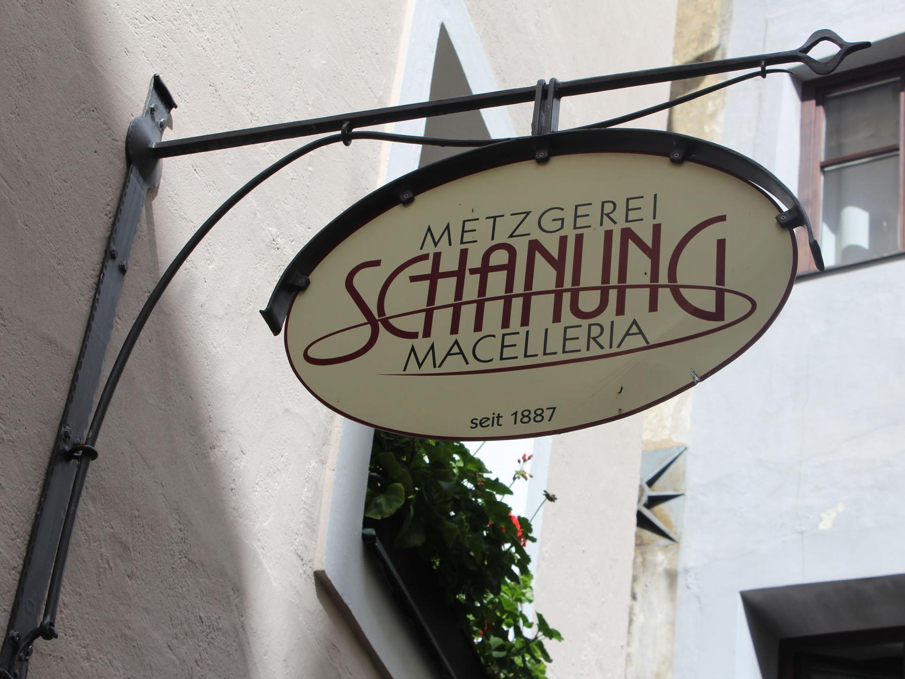 Butcher's shop Schanung