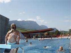 Swimming pool LIDO with access to the lake