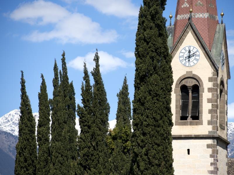 Parish church Burgstall