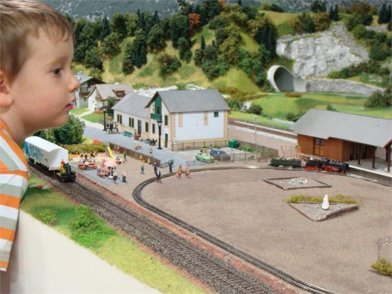 Eisenbahnwelt mit Südtirol in Minaitur, Rabland/Partschins