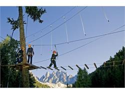 High rope adventure park Funes