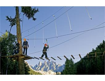 High rope adventure park