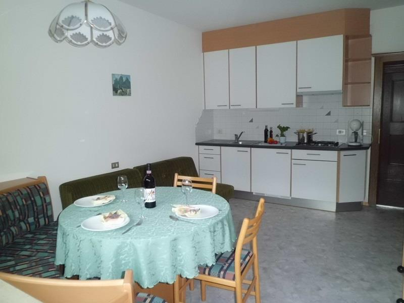 Wohnküche im Appartement Margerite