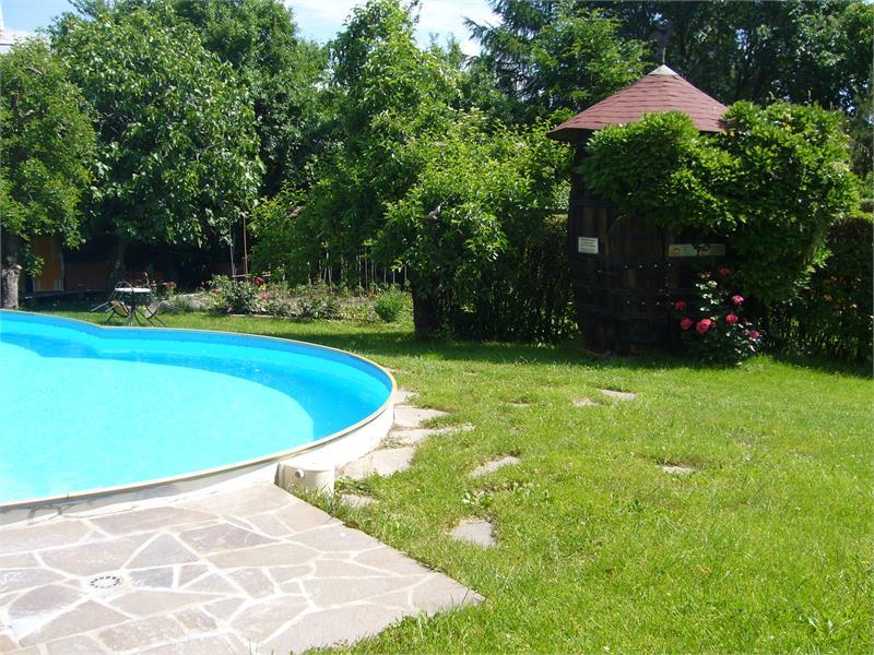 Swimmingpool in the Yard
