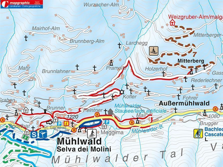 Winter walk - Selva dei Molini/Mühlwald Holzerhof