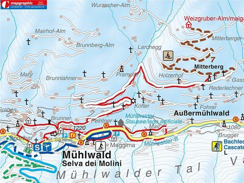Selva dei Molini Mühlwald