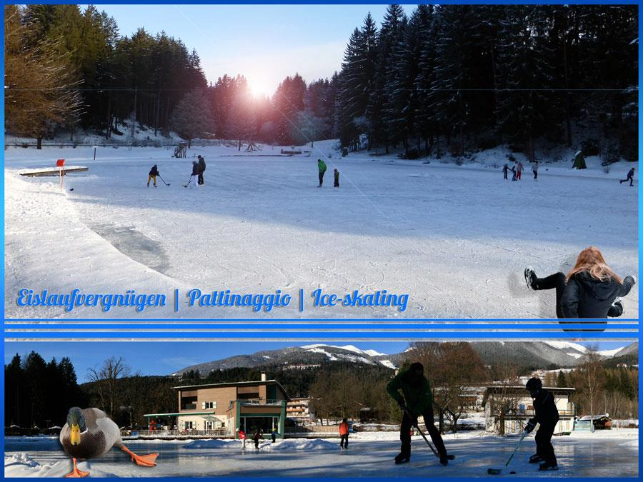 Natural Ice Rink Issinger Weiher