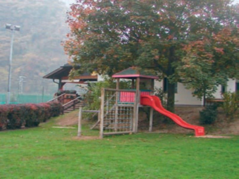 Playground in the sports area