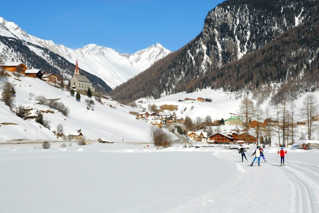 Cross-country ski-track at Riva di Tures / Rein in Taufers