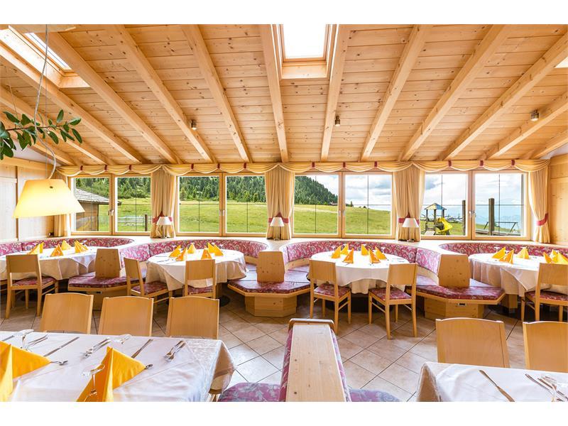 Sala da pranzo con vista mozzafiato