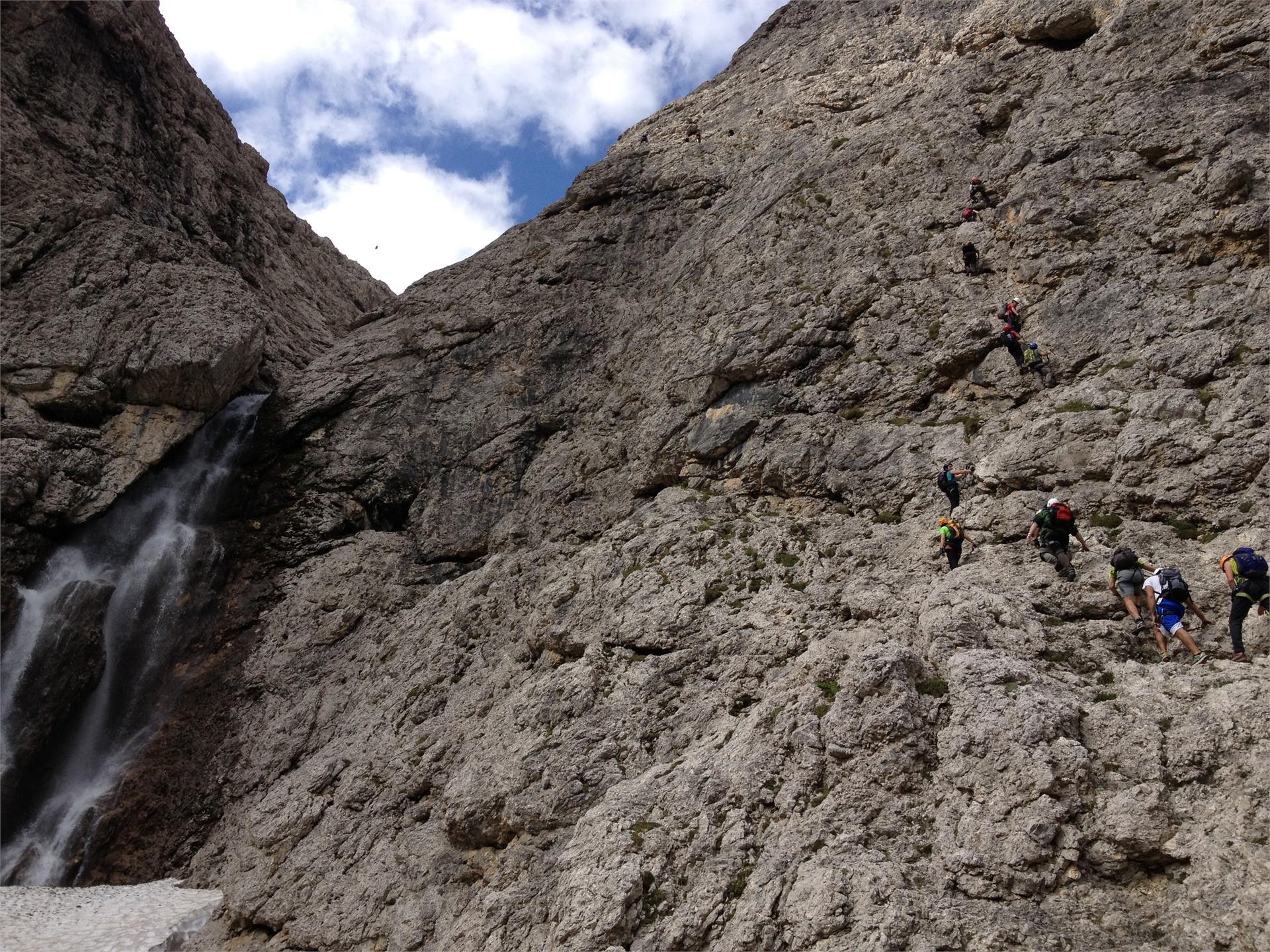 Pisciadú Klettersteig