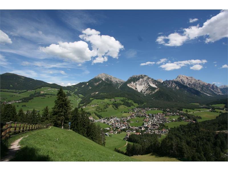 Ausblick von Ju auf dem Dorf